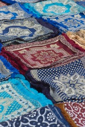 Carpets on a market in Morocco
