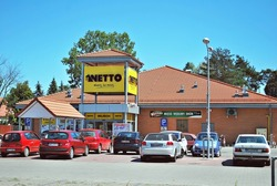 Warsaw,Poland. August 2016.Netto Supermarket
