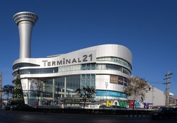 NAKHON RATCHASIMA, THAILAND-DECEMBER,2016: TERMINAL 21 is a new shopping mall in Korat