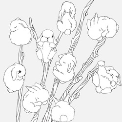 Stock images royalty free images vectors shutterstock for Pussy coloring pages