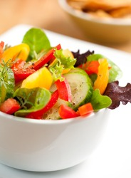 Spring Salad Mix in a Bowl