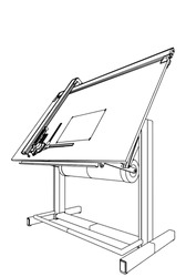 Drawing Table Vector 03