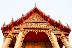 Thai Temple, Udon Thani,North-East of Thailand