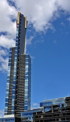Eureka tower in the heart of Melbourne
