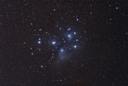 The Pleiades Cluster, The Seven Sisters