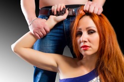 Suggest male domination pics violence