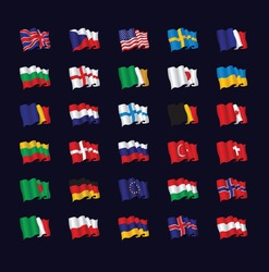 national flag set
