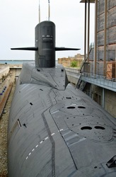 The SSBN Le Redoutable is a former French nuclear powered ballistic missile submarine