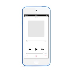 Similar Images Stock Photos Vectors Of Ios Music Player Concept