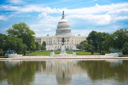 United States Capitol in Washington D. C.