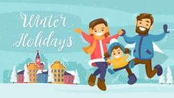 Winter Holiday Illustrations