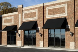 New Commercial Building with Retail and Office Space