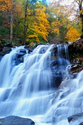 Bastion Falls in autumn NY State