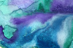 great watercolor background - watercolor paints on a rough texture paper