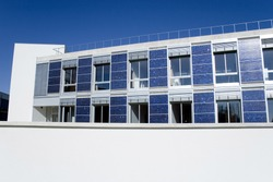 solar green house photovoltaic and ecological architecture