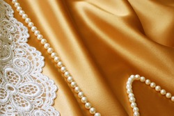 Satin, Pearls, and Romance