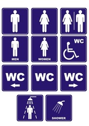 set of wc icons