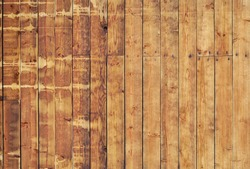 Weathered striped textured wooden planks natural pattern background