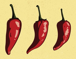 Vector Chili Peppers.