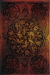 Arabic background pattern