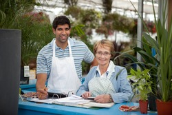 Garden Center Employees