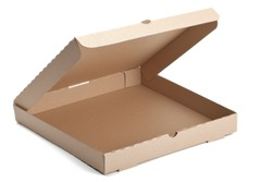 empty pizza box