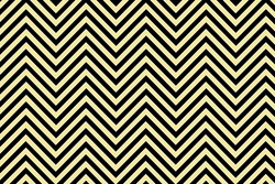 Trendy chevron patterned background, yellow, black and white