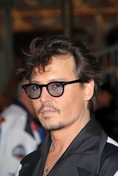 "Johnny Depp at the ""Pirates of the Caribbean: On Stranger Tides"" World Premiere, Disneyland, Anaheim, CA. 05-07-11"