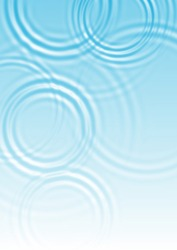 abstract blue water ripple background
