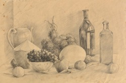 Original hand drawing & painting