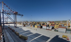 Modern Container Port Terminal, South Africa