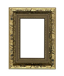 picture frames isolated on white
