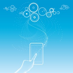 Cloud computing - data sotrage - social networking - web-based applications - apps - smartphone