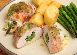 Stuffed Chicken Breasts, 04/12