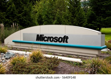 REDMOND, WASHINGTON - JULY 1: Microsoft Corporation announces the Kin mobile phone has been discontinued after one month of sales. July 1 2010 Redmond, Washington