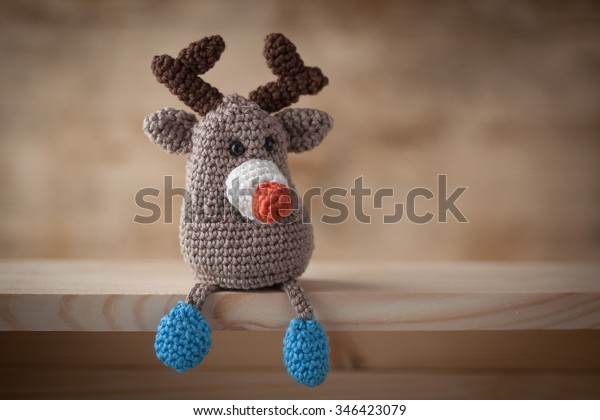 rednosed reindeer crochet