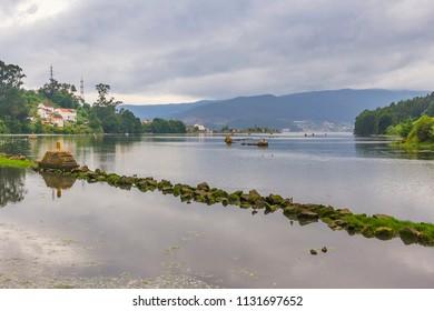 Redondela estuary in Vigo bay