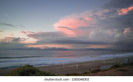 Redondo Beach Sunset over the Pacific