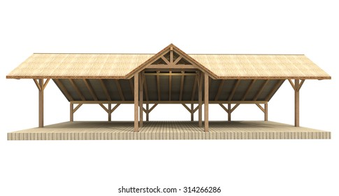 Thatched Hut Stock Images Royalty Free Images Amp Vectors
