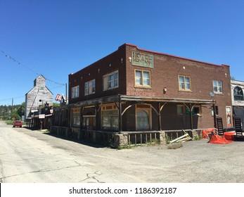 Reed Point. Montana. USA - June 06, 2016: Reed Point City. Montana.