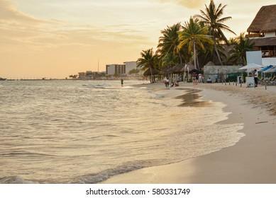 Reef Coco Beach, Playa del Carmen, Mexico