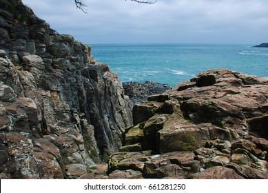 Reef rocks seaside