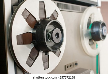 reel with magnetic tape