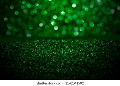 reen Christmas Sparkle or St Patrick's Day Party invitation
