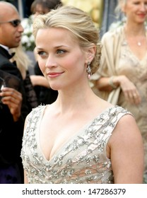 Reese Witherspoon 78th Academy Award Arrivals Kodak Theater Hollywood, CA March 5, 2006