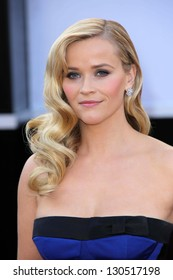 Reese Witherspoon at the 85th Annual Academy Awards Arrivals, Dolby Theater, Hollywood, CA 02-24-13