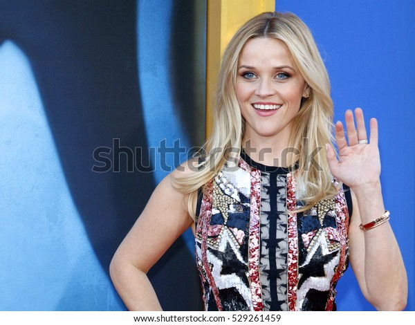 Reese Witherspoon at the Los Angeles premiere of 'Sing' held at the Microsoft Theater in Los Angeles, USA on December 3, 2016.