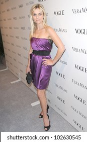 Reese Witherspoon at a Vogue Dinner Honoring Vera Wang, Vera Wang Store, Los Angeles, CA. 03-02-10