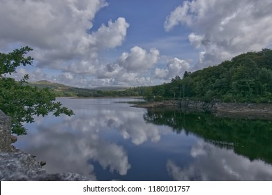Refections in Burrator Reservoir