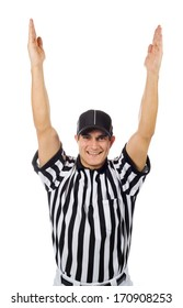Referee: Signaling For A Touchdown